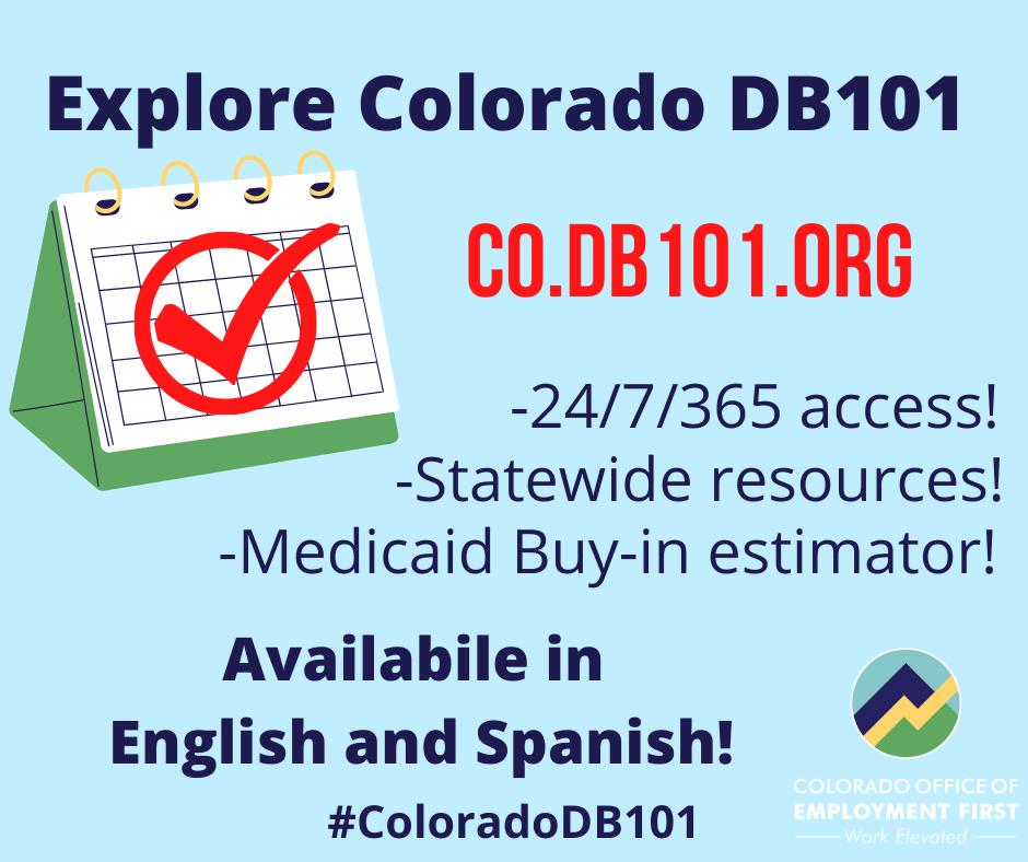 Explore Colorado DB101 CO.DB101.ORG